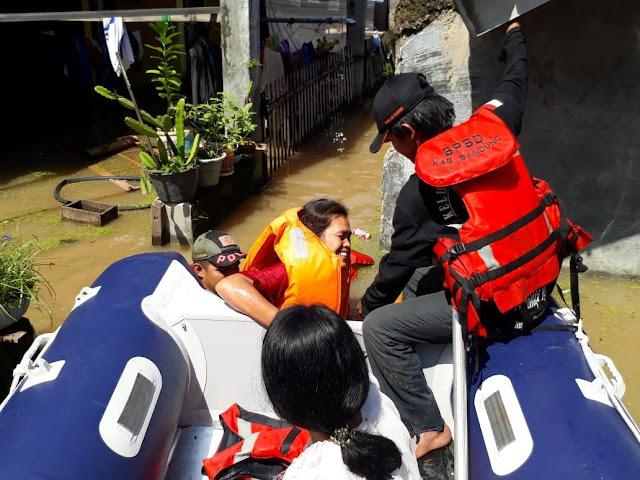 Enam Kecamatan di Bandung Masih Terendam Banjir