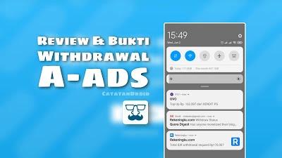 A-ads Review dan Bukti Pembayaran