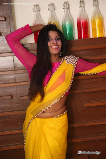 Manisha Pillai latest hot photos in saree « Mallufun.com
