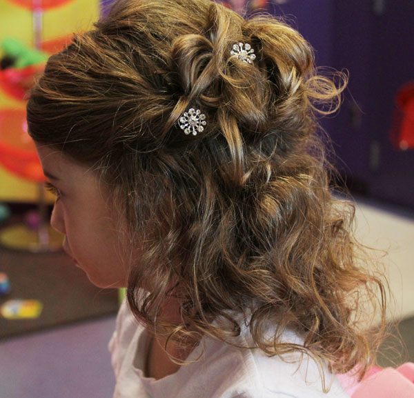 little girls hairdos fancy