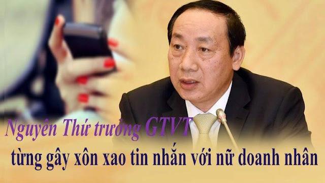 Nguyên Thứ trưởng Bộ GTVT và vụ lùm xùm tin nhắn với nữ doanh nhân