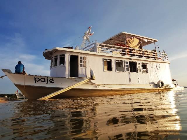 Barco Pajé em Alter do Chão