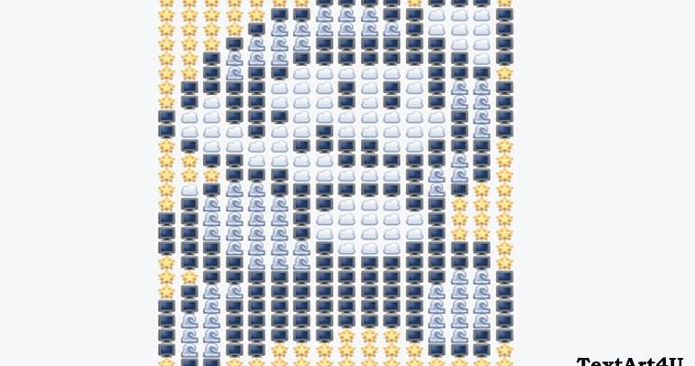 super mario emoji text art for facebook comments