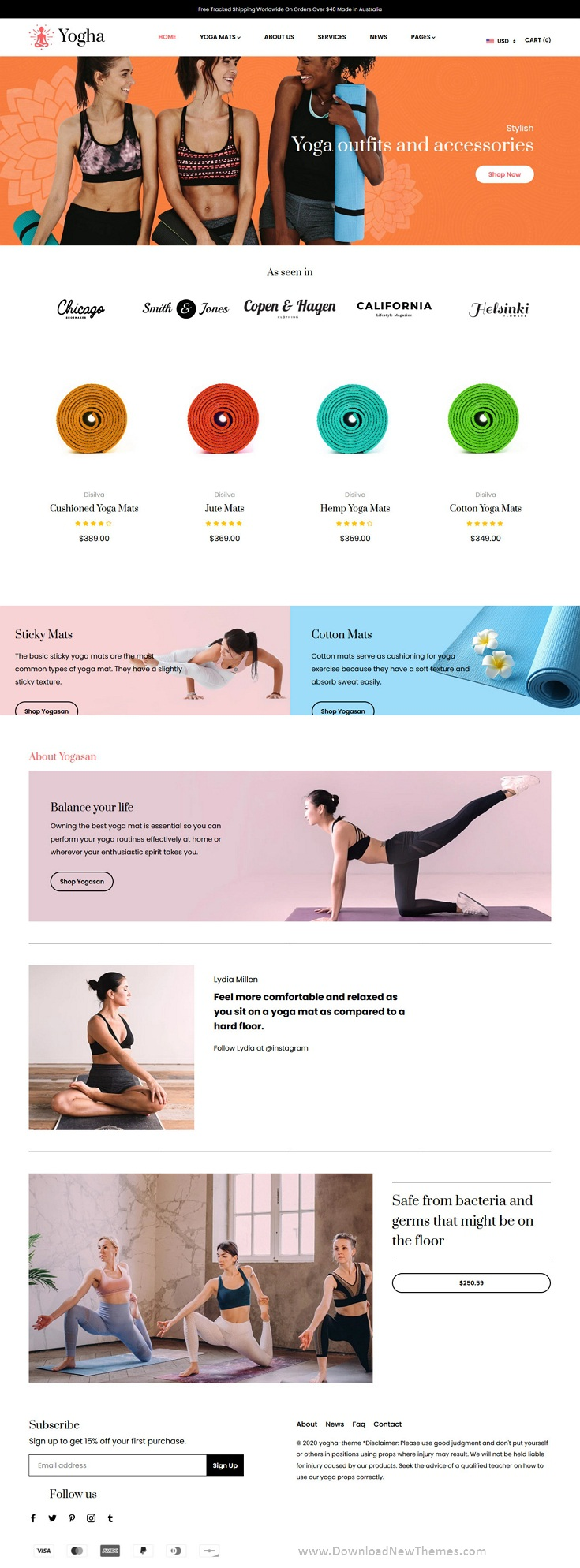 Fitness Store, Yoga Shop Shopify Theme