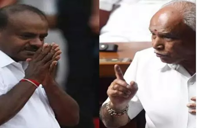 कर्नाटक का नाटक : कर्नाटक में भाजपा सरकार, नए सीएम येदियुरप्पा!