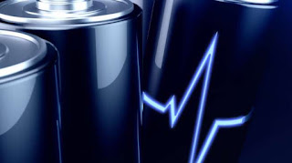 Ilustrasi baterai. [Shutterstock] updetails.com