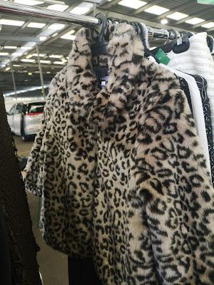 Faux fur leopard print jacket. Photography by Rachel Hancock @retrogoddesses