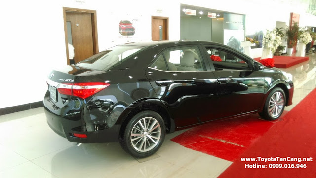 Corolla Altis đem lại nhiều tiện ích và sự hài lòng cho khách hàng