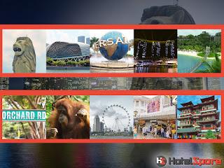 Di bagian pertama ini ada tempat wisata favorit Singapore 2015 diantaranya Merlion park, Esplanade, Universal Studios, Marina Bay Sands, Sentosa Island, Orchard Road, Singapore Zoo, Singapore Flyer, Bugis Street dan Chinatown.