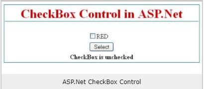 CHECKBOX CONTROL IN ASP.NET