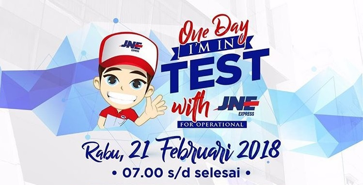 Test Masuk JNE Untuk Kurir & Driver 21 Februari 2018