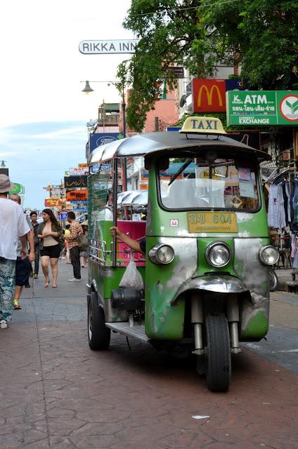 방콕의 삼륜택시