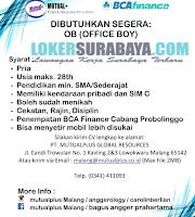 Info Loker Surabaya Terbaru di PT. Mutual Plus Global Resources Juli 2019