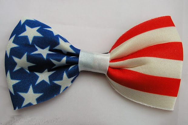 Theatrical Threads American Flag Bow Tie