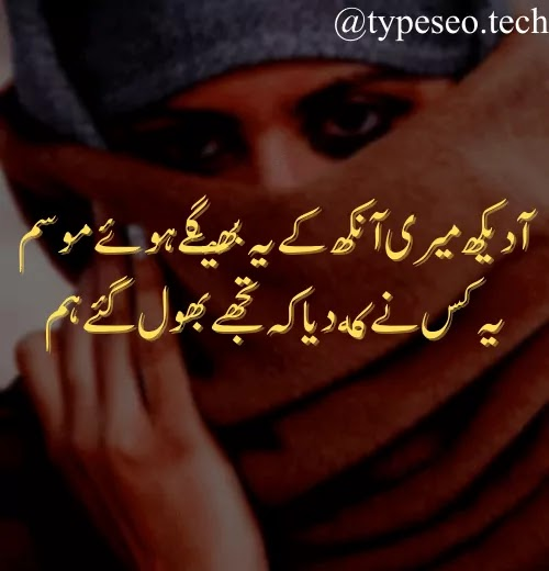 +31 Sad Poetry In Urdu 2 Lines Without Images, Sad Poetry