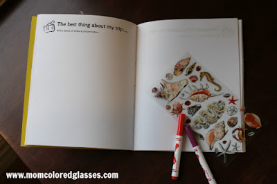 Printable travel pages by Mom colored Glasses