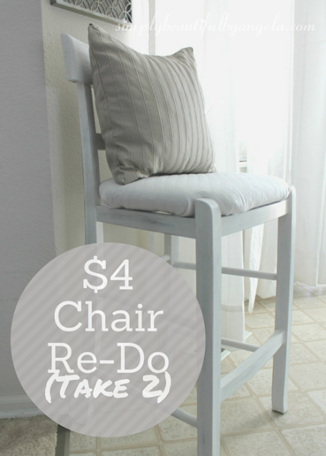 thrifted chair makeover