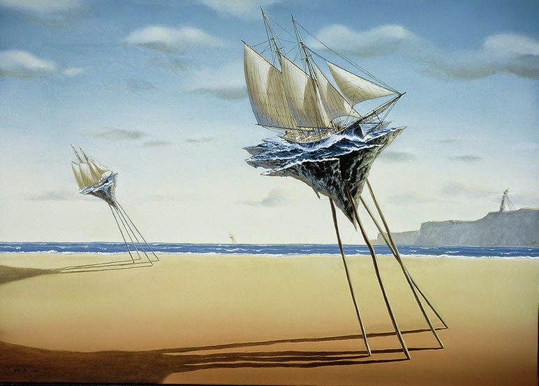 14-Jürgen-Geier-Ships-and-Maritime-Surreal-Paintings-www-designstack-co