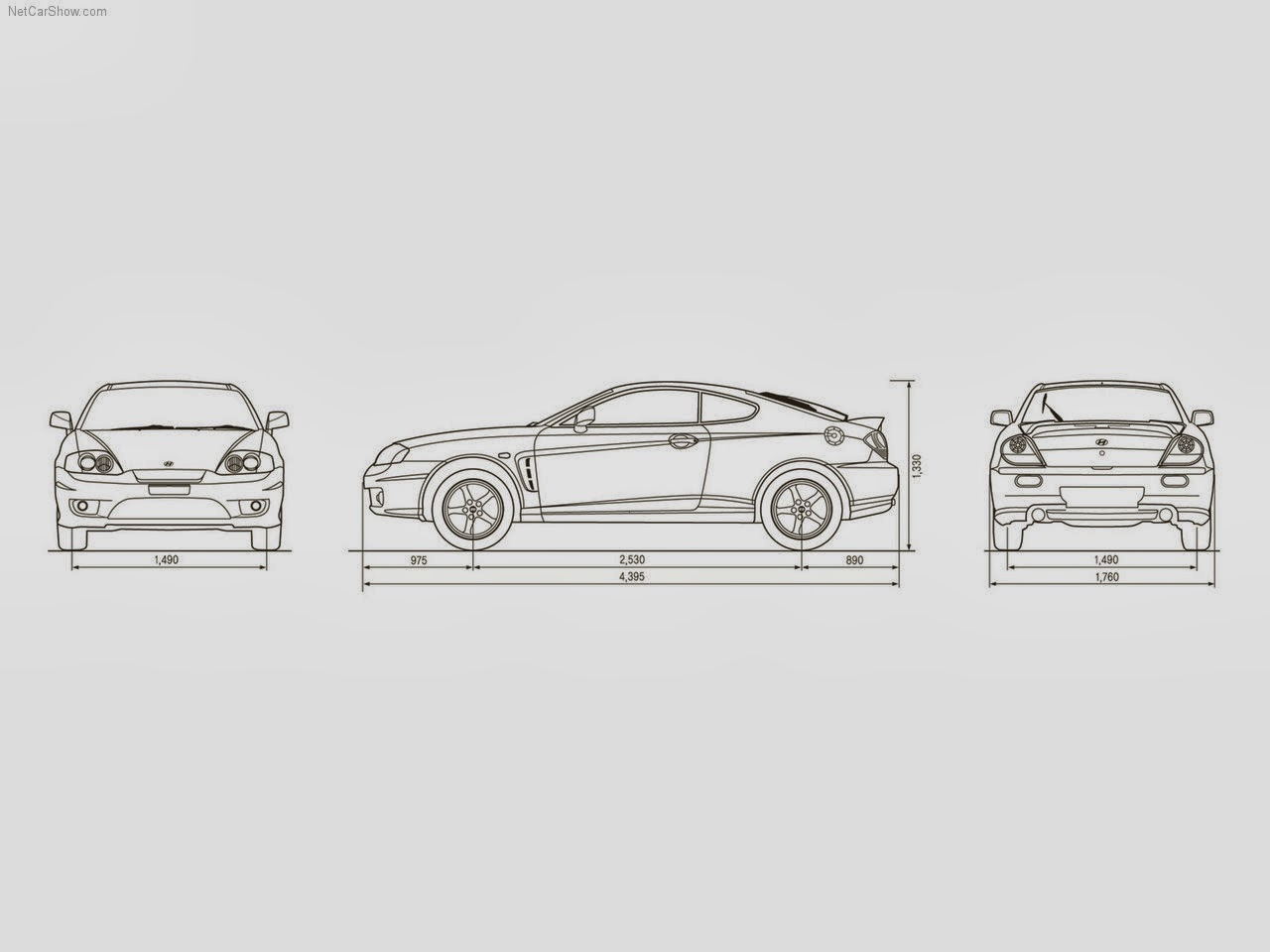 kr_coupe_parts: collection of features on Hyundai Coupe GK