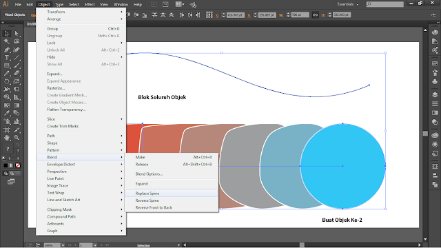 Teknik Cepat Menggandakan Objek Dengan Praktis Di Adobe Illustator  3 Teknik Cepat Menggandakan Objek Dengan Praktis Di Adobe Illustator