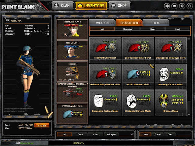 Download Game Point Blank Offline 2016 New Version Terbaru