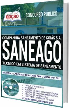 Apostila Concurso SANEAGO 2018 Técnico em Sistema de Saneamento