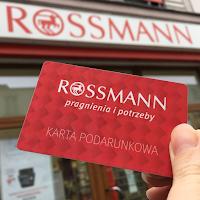 Karta podarunkowa Rossmann 300 zł za kartę Citi Simplicity
