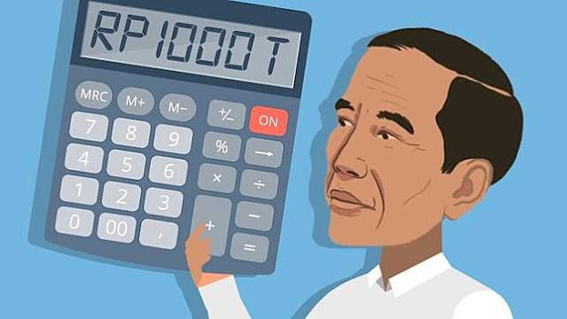 Setahun Pemerintahan Jokowi, DPR Ungkap Rekor Utang Terbesar Sejak Krisis 98 Lebihi Batas Aman
