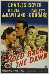 Watch Hold Back the Dawn Online Free in HD