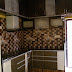 modular kitchen design with bathroom stairs granite frame and sanitary fittings