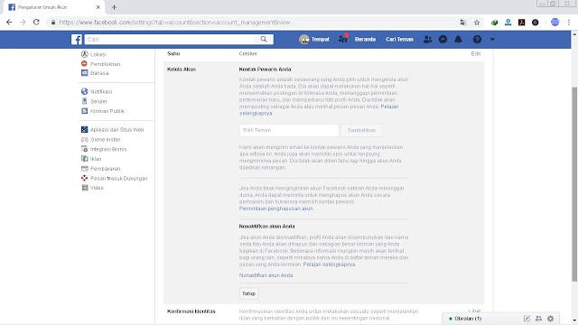 4 Langkah Cara Menghapus Akun Facebook