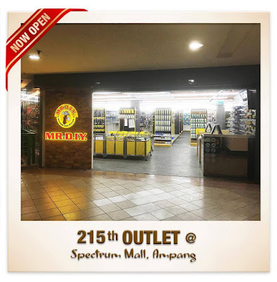 MR DIY Free Umbrella Spectrum Mall Ampang