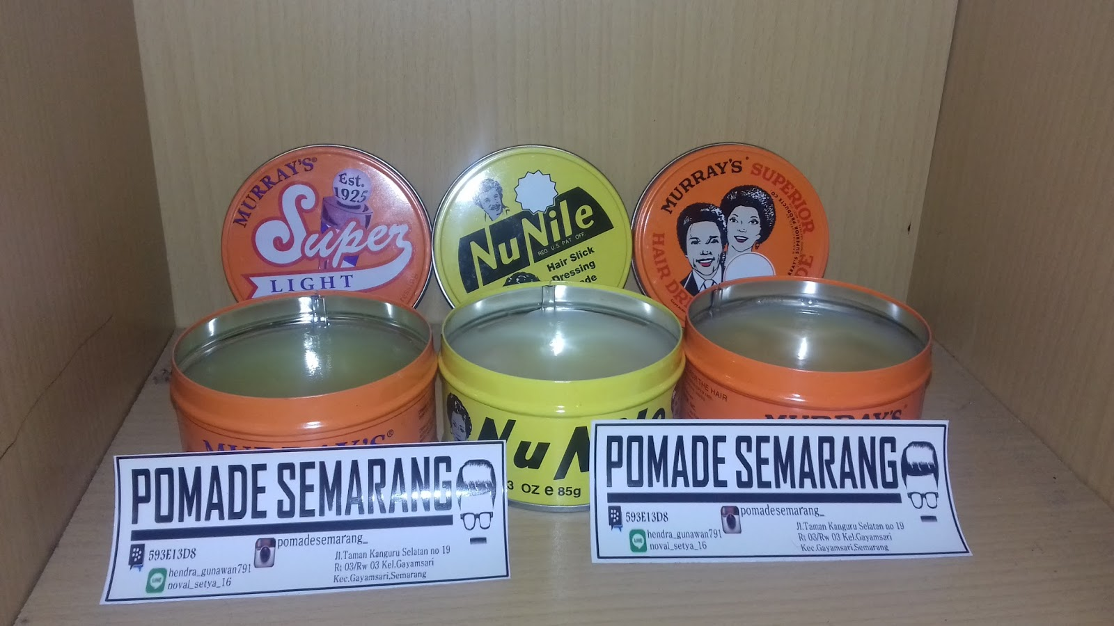 Pomade Semarang Jual Daerah Murrays Xtra Heavy Ada Beberapa Varian Yang Tersedia Sesuai Dengan Daya Hold Dan Shine Anda Perlukan Untuk Gaya Rambutmu