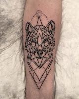 волк тату в уфе