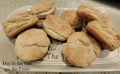 Sourdough Buttermilk Biscuits
