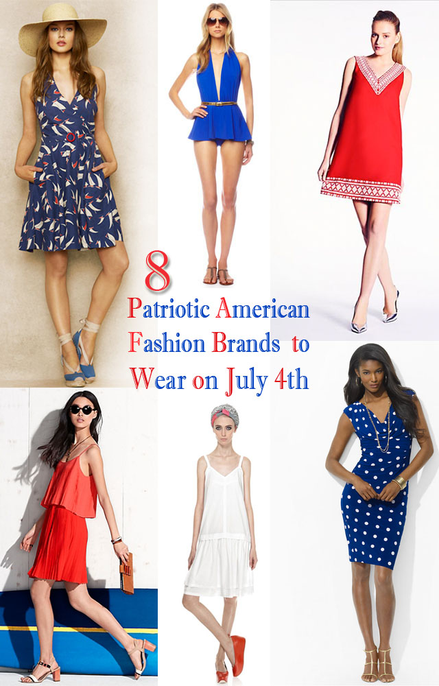 Patriotic American Fashion Brands to Wear on the 4th of July