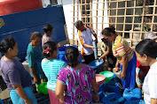 BMH Salurkan Air Bersih Di Grobogan, Warga Sambut Gembira