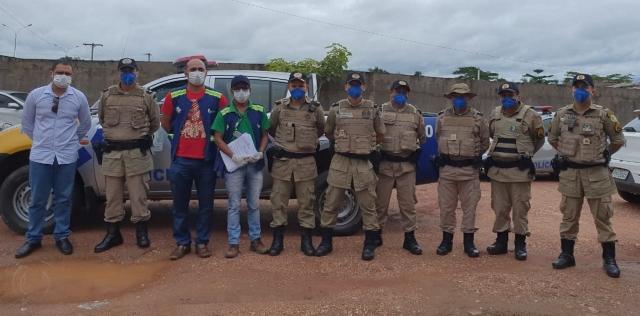 9° Batalhão da PM dá início a Operação COVID 19 no combate ao Coronavírus na região do Bico do Papagaio