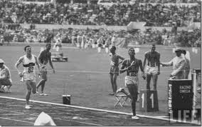 4x400 finish Rome 1960 Otis Davis
