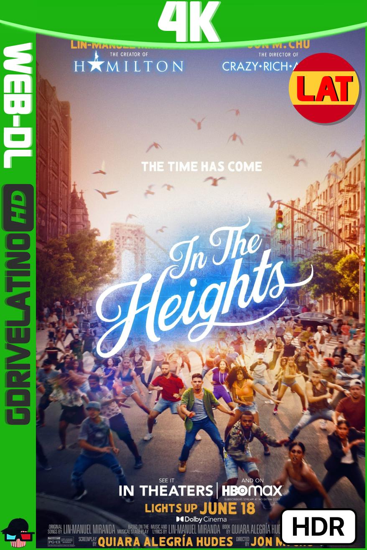 En un barrio de Nueva York (2021) HMAX WEB-DL 4K HDR Latino-Ingles MKV