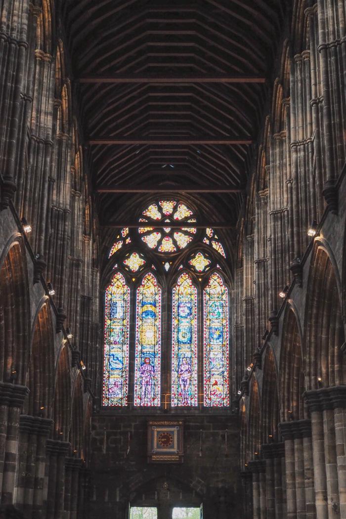 Cathédrale Saint Mungo dans la ville de Glasgow