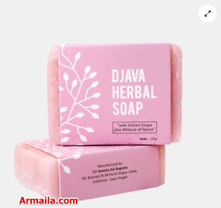 DJAVA Herbal Soap Grape Plus Mixture of Spices  ARMAILA DROPSHIPPER