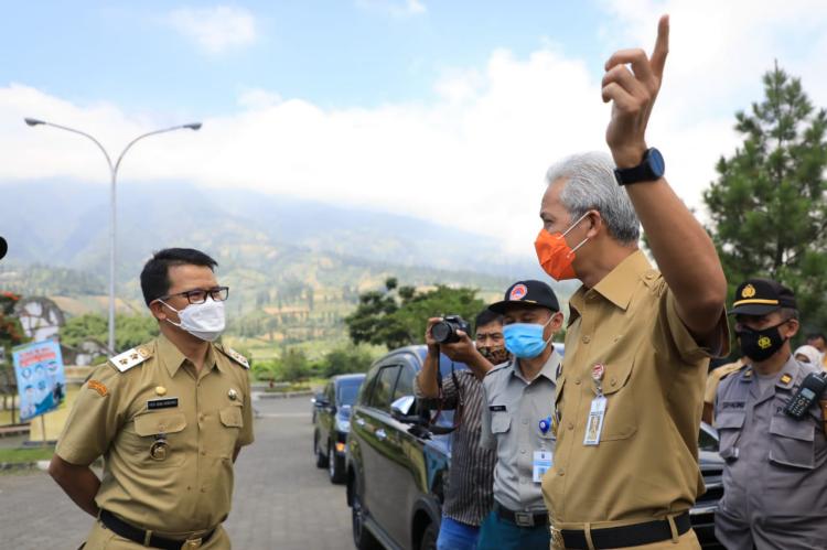 Antisipasi Lonjakan Covid-19, Ganjar Perintahkan Rumah Sakit Siapkan Kamar Isolasi dan ICU