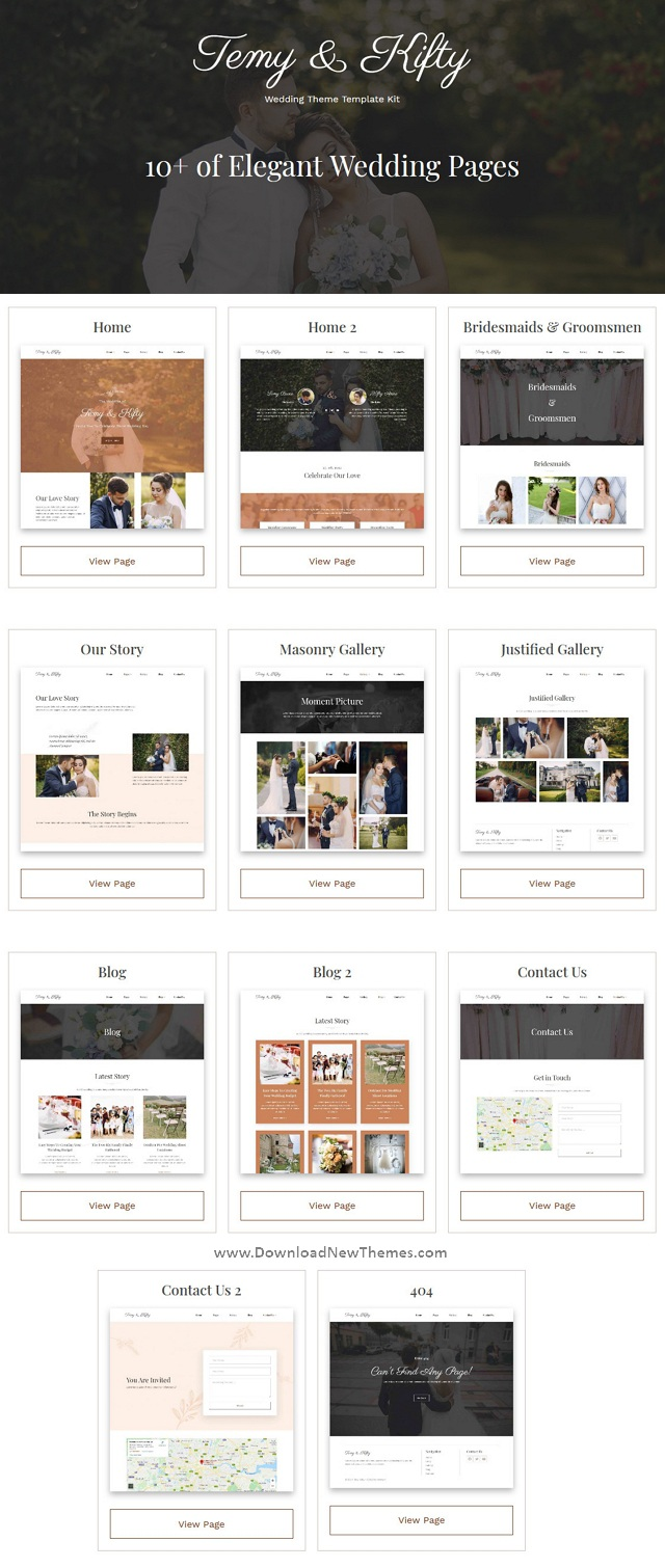 Wedding Template Kit