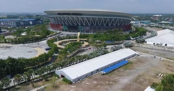 Philippine Arena mega swabbing center