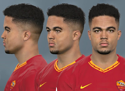 PES 2017 Faces Justin Kluivert by WER Facemaker