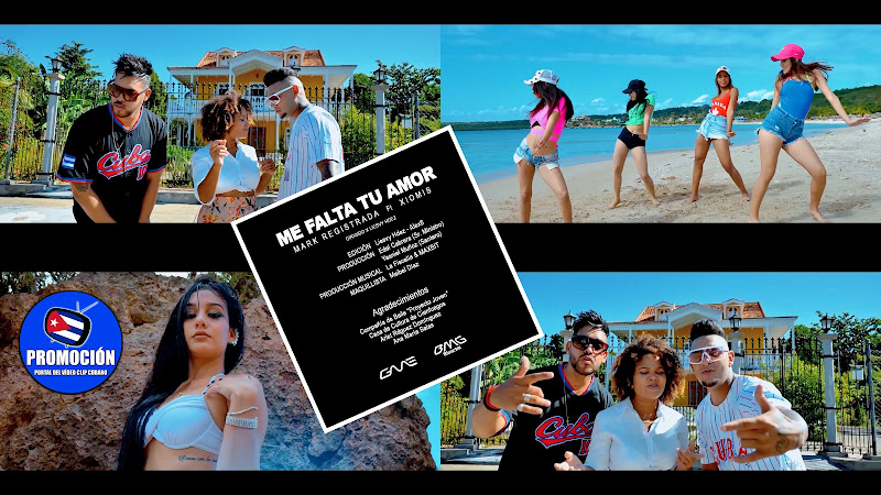 Mark Registrada & Xiomis - ¨Me falta tu amor¨- Director: Liesvy Hernández. Portal Dle Vídeo Clip Cubano. Música cubana. Reguetón. Cuba.