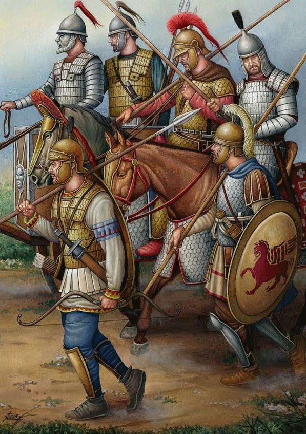 Στρατεύματα της περιόδου και περιοχής του Μιθριδάτη