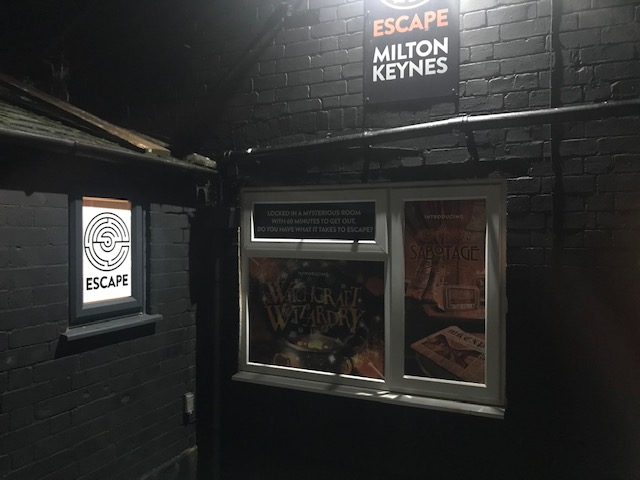 Escape, Milton Keynes, Sabotage, 1920s Train,
