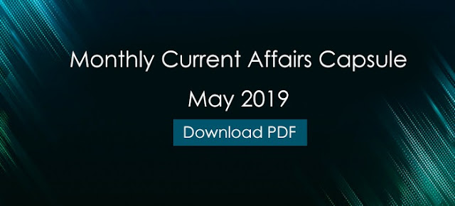 Current Affairs May 2019 - GK PDF Free Download